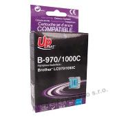 UPrint kompatibilní ink s LC-1000C, cyan, 10ml, B-970C, pro Brother DCP-330C, 540CN, 130C,