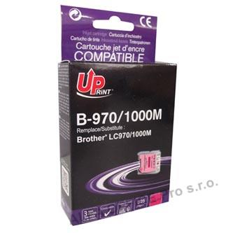 UPrint kompatibilní ink s LC-1000M, magenta, 10ml, B-970M, pro Brother DCP-330C, 540CN, 13