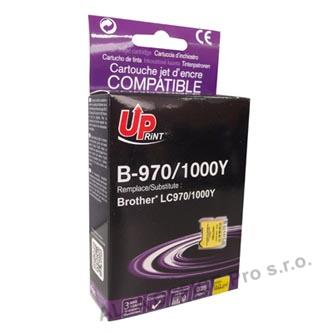 UPrint kompatibilní ink s LC-1000Y, yellow, 10ml, B-970Y, pro Brother DCP-330C, 540CN, 130