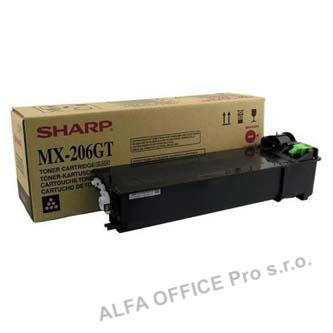 Sharp originální toner MX-206GT, black, 16000str., Sharp MX-M160D, MX-M200D