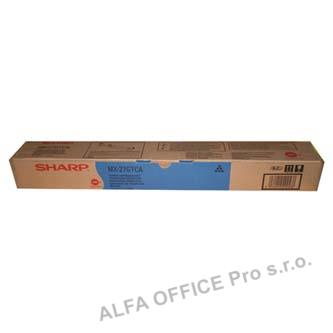 Sharp originální toner MX-23GTCA, cyan, 10000str., Sharp MX-2010U, MX-2310U, MX-2314N, MX-