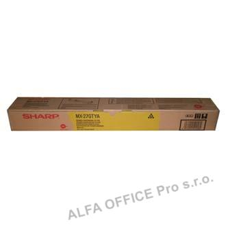 Sharp originální toner MX-23GTYA, yellow, 10000str., Sharp MX-2010U, MX-2310U