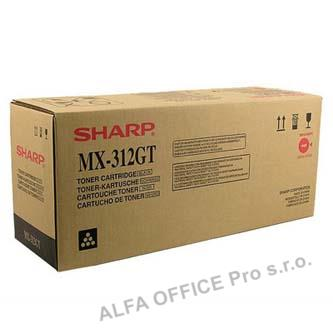Sharp originální toner MX-312GT, black, 25000str., Sharp MX-M260, M260N, M310, M310N